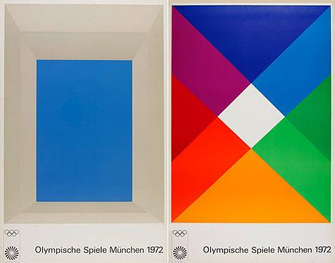 Munich Olympics posters