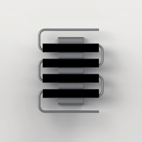 Ricamo Stainless Steel Wall Heater