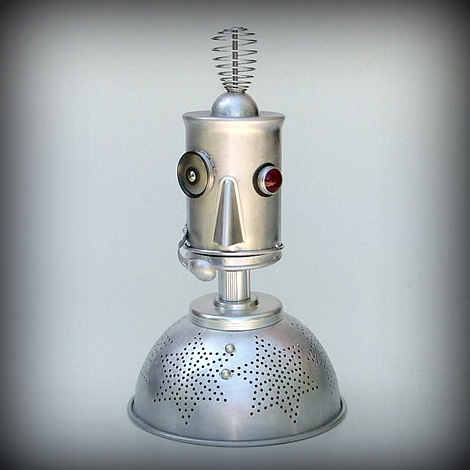 Ground Control to Major Tom robot nightlight