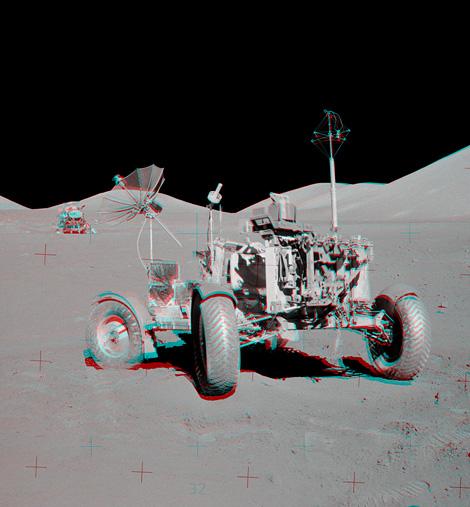 Apollo 17: VIP Site Anaglyph