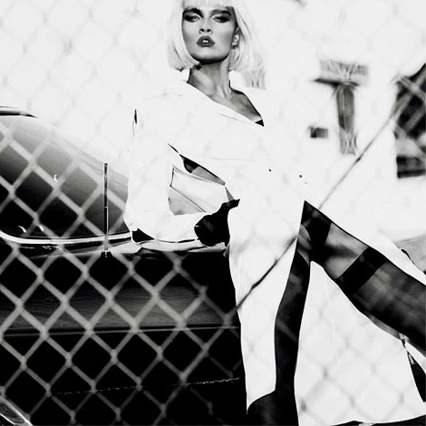 Crystal Renn by Txema Yeste for Numéro China March 2012