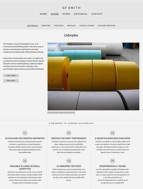 GF Smith website