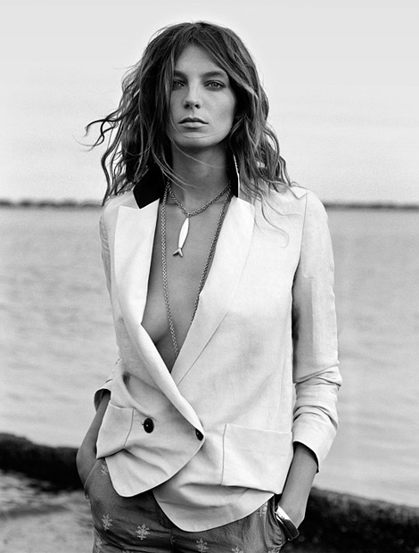 Daria Werbowy by Cass Bird for Maiyet
