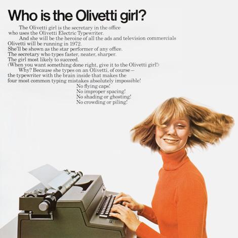 Olivetti Girl