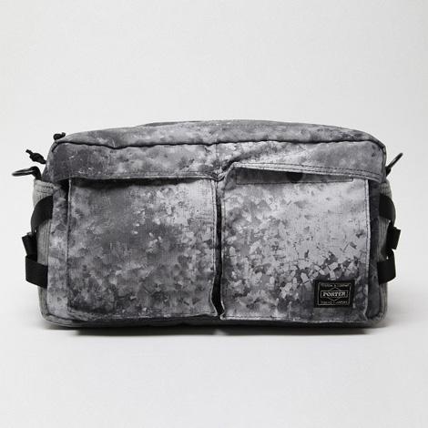 White Mountaineering x PORTER Digital Camo Corduroy Waist Pack