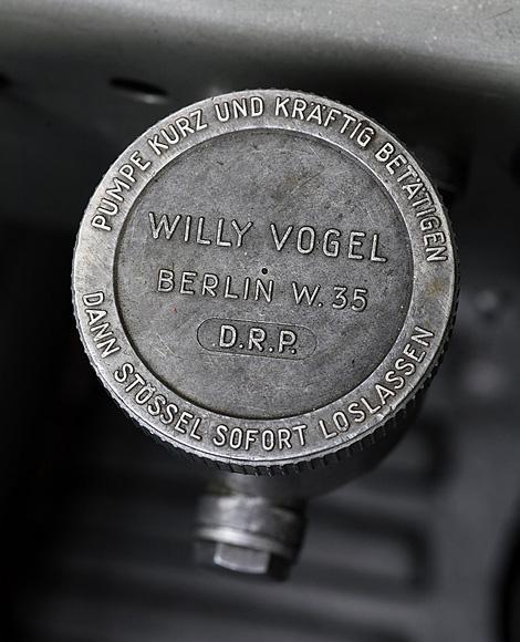 BMW Mille Miglia detail