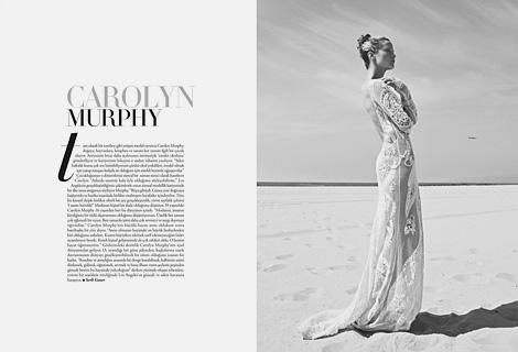 Carolyn Murphy x Koray Birand