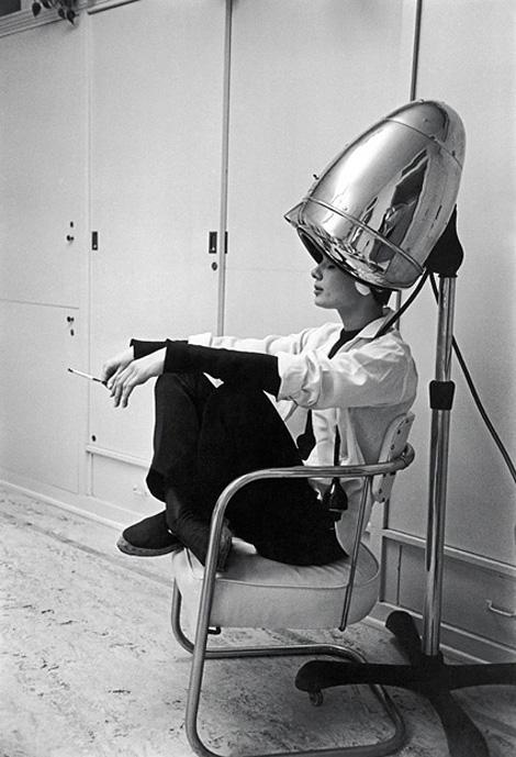 Audrey Hepburn hairdryer