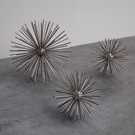 Sputnik sculpture, by Curtis Jere, USA 1960.