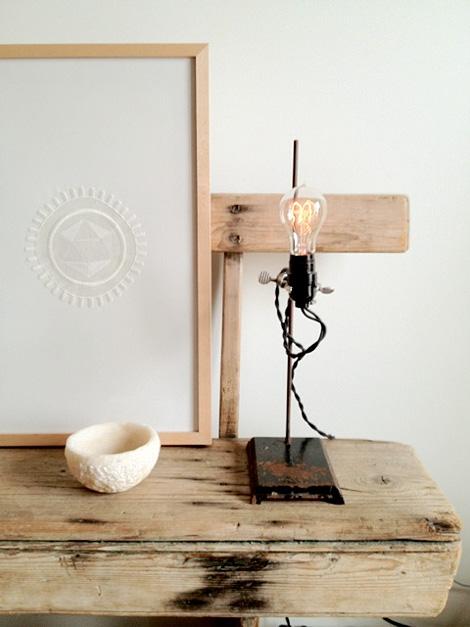 Lab-stand lamp