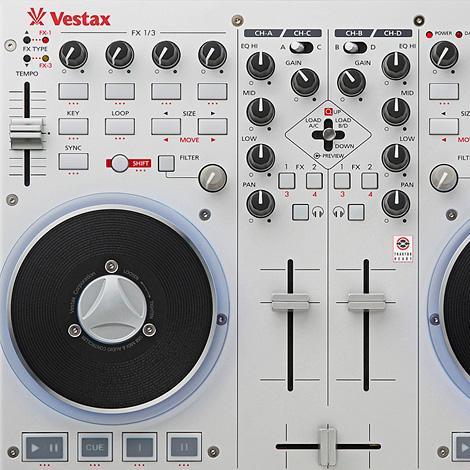 Vestax VCI-100MK2 USB MIDI controller