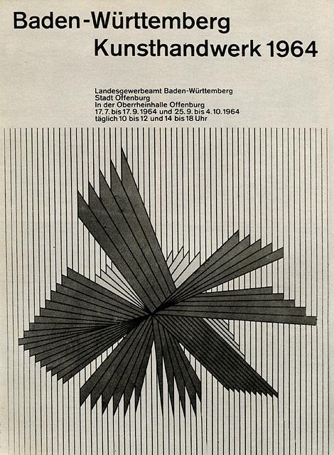 Baden-Württemberg Kunsthandwerk 1964