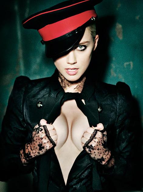 Amber Heard photographed by Ellen von Unwerth
