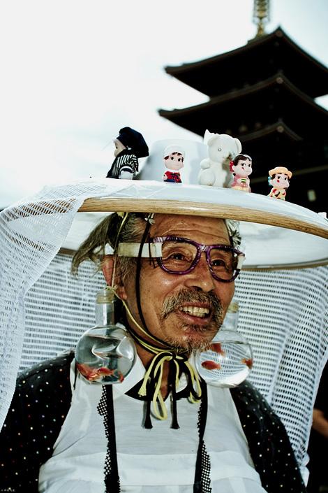 Mr Curious Hat Man