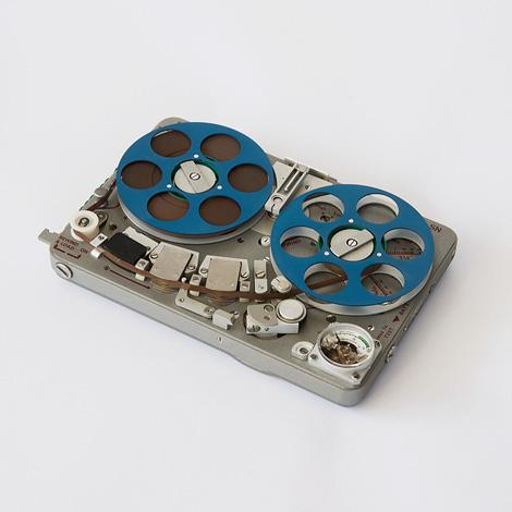 NAGRA SN tape recorder, 1970.