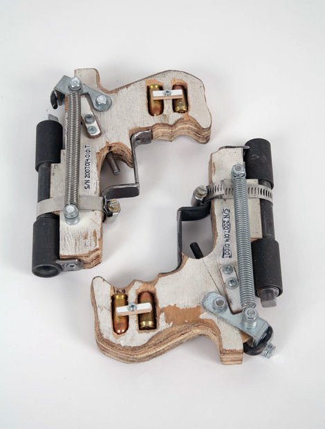 Tom Sachs: Handmade Hand Guns