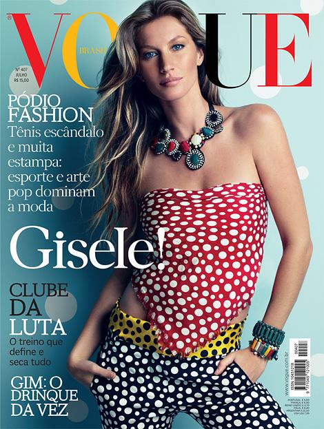Gisele x Vogue Brazil