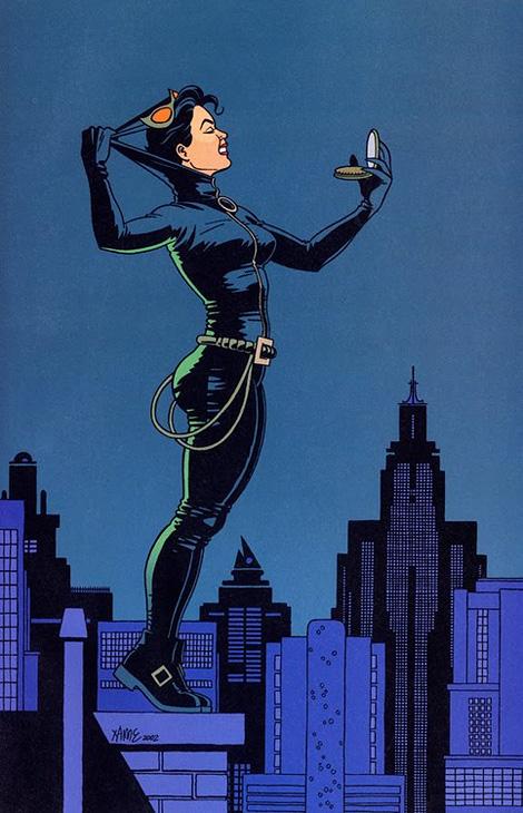 Jaime Hernandez: Catwoman