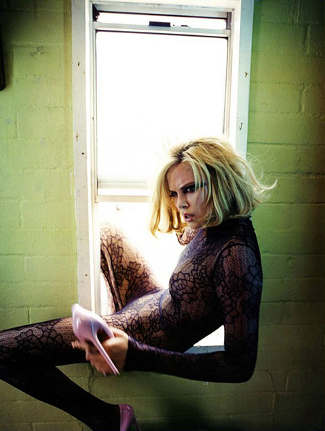 Charlize Theron x Flaunt