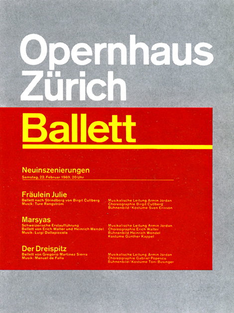 Opernhaus Zürich Ballett