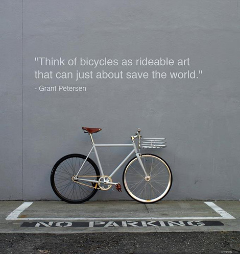 Rideable art