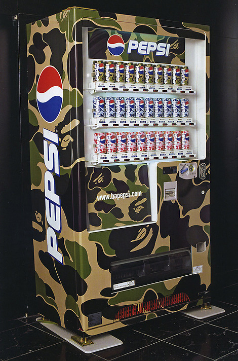 BAPE x Pepsi vending machine