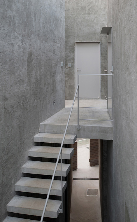 Kitaurawa Valley staircase