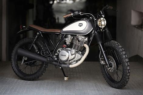 Yamaha SR 250 custom