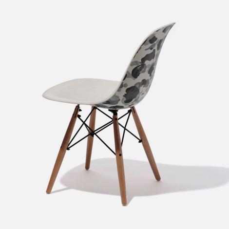 BAPE Ballpen Camo Side Chair