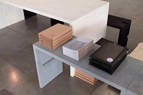 Modular wooden benches