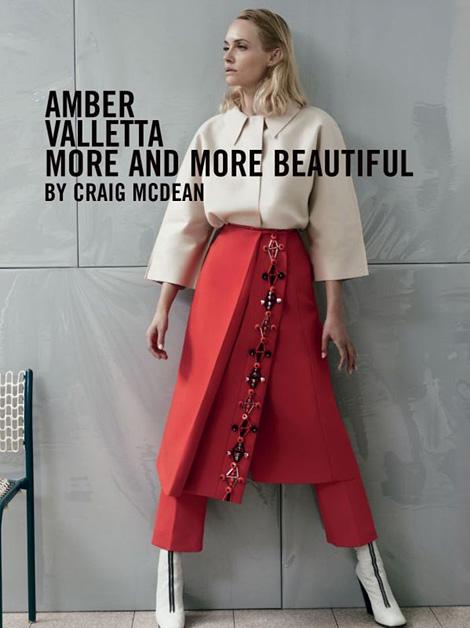 Amber Valletta x Craig McDean