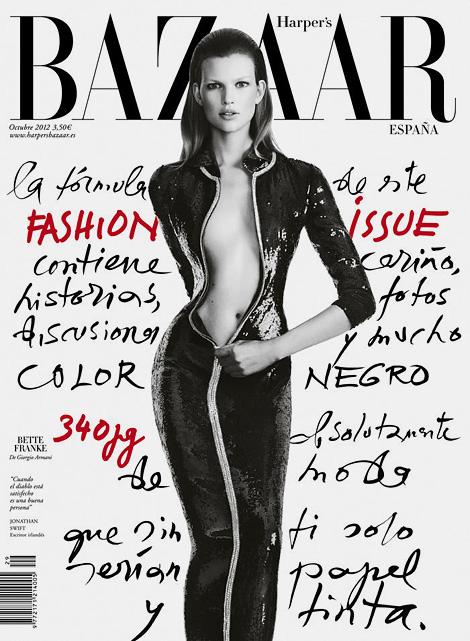 Bette Franke x Harper's Bazaar Spain