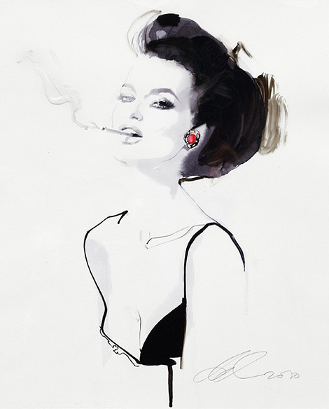 Bloody Mary x David Downton