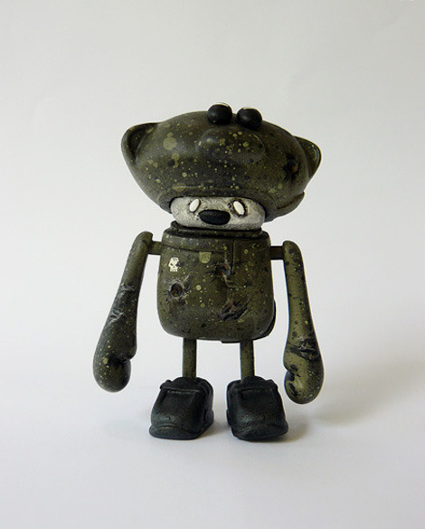 "Dust The teddys R.B.S. IV ""open helmet version"""
