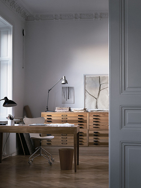 Mats Gustafon's studio