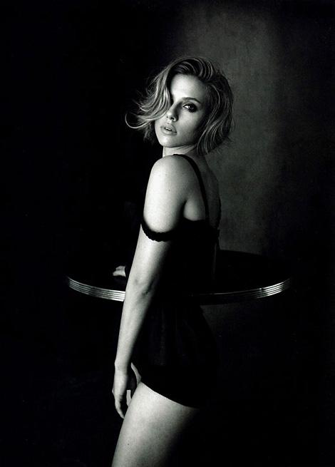 Scarlett Johansson x Peter Lindbergh