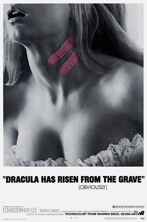Dracula has risen…