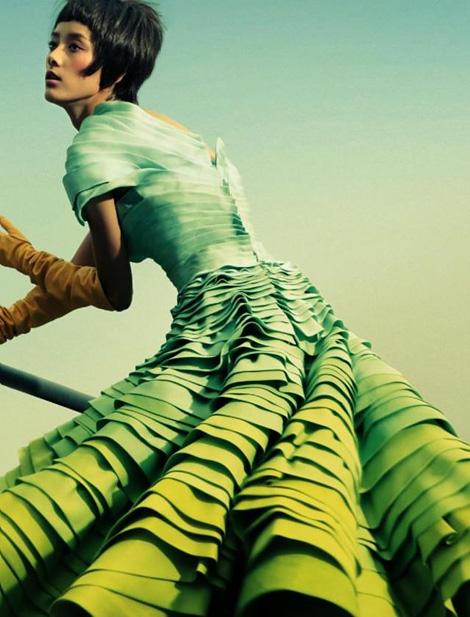 Emma Pei x Dior Fall 2007