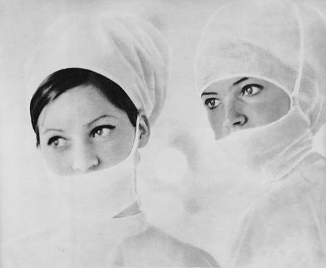 Two Soviet nurses