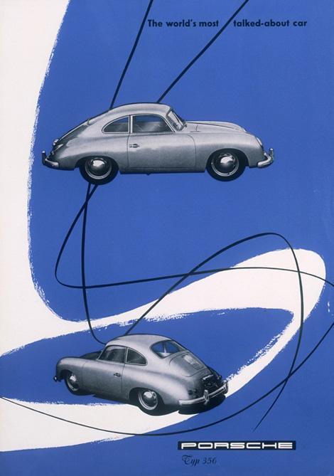 Porsche 356 ad