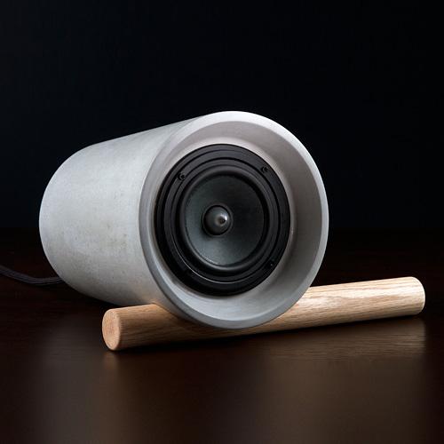 Jack concrete speaker