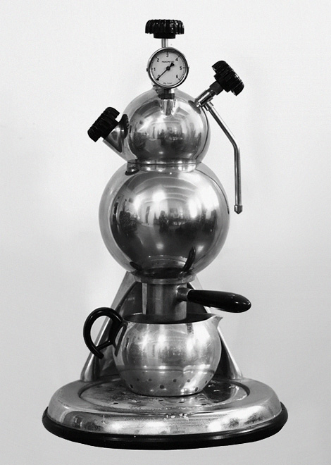 Martian coffee machine