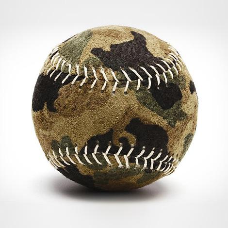 Camo baseball