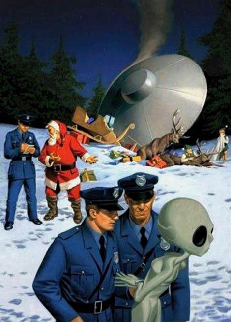 Santa vs. Aliens