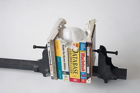 Skull of books