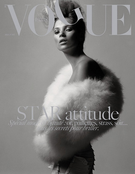Kate Moss x Vogue Paris