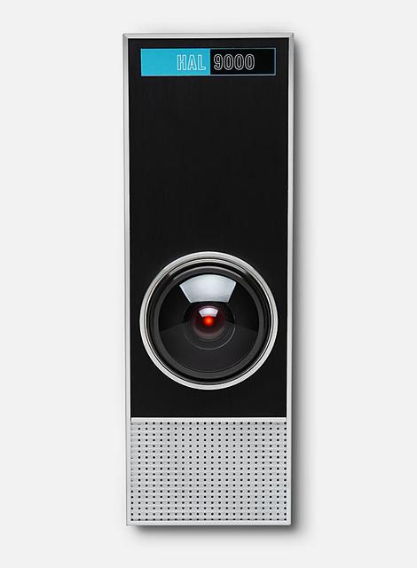 HAL 9000 life-size replica