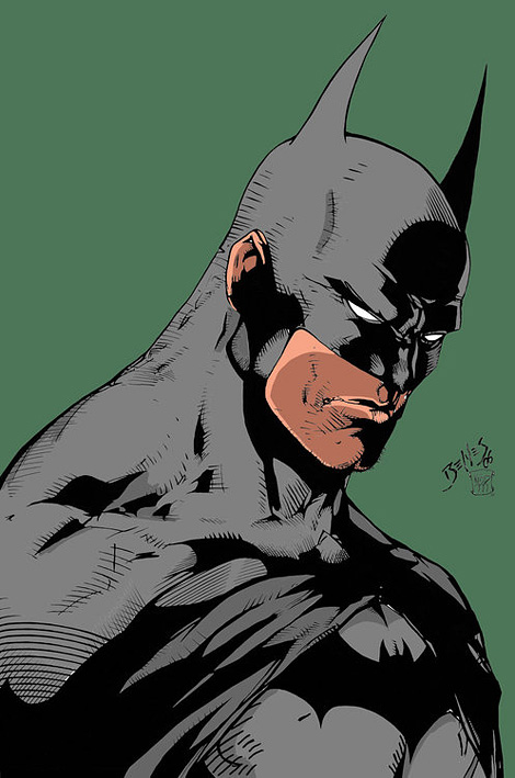 Batman x Ed Benes (coloured by Geoff Perrine)