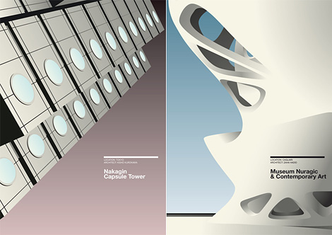 Architectural posters