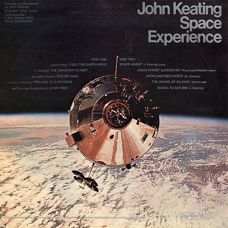 John Keating Space Experience